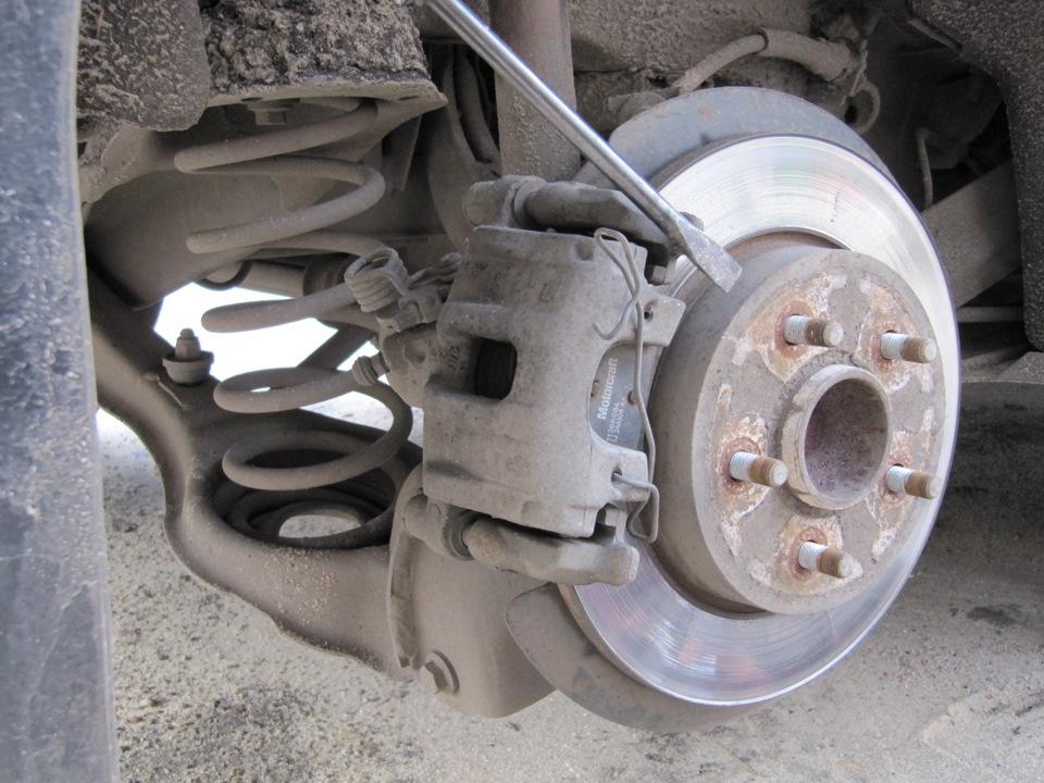 Замена колодок форд фокус 3