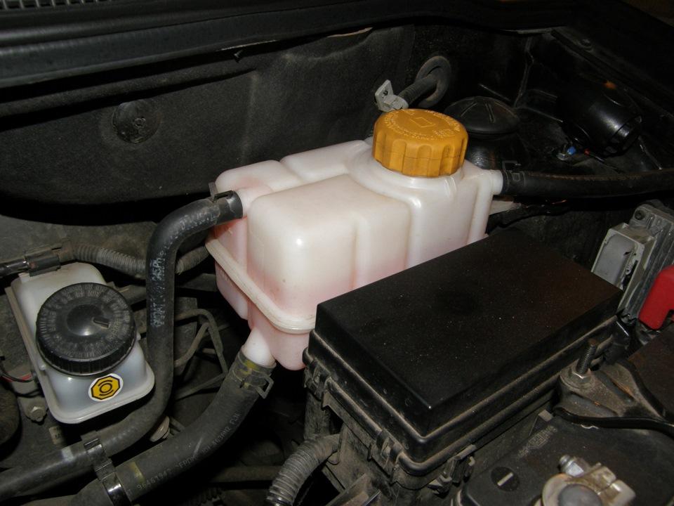 какую охлаждающую жидкостьзаливать в chevrolet aveo 2005