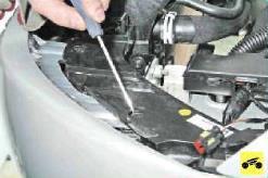 Замена радиатора поло