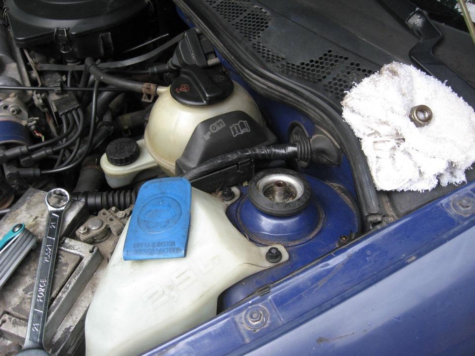 Замена опорного подшипника Volkswagen Polo