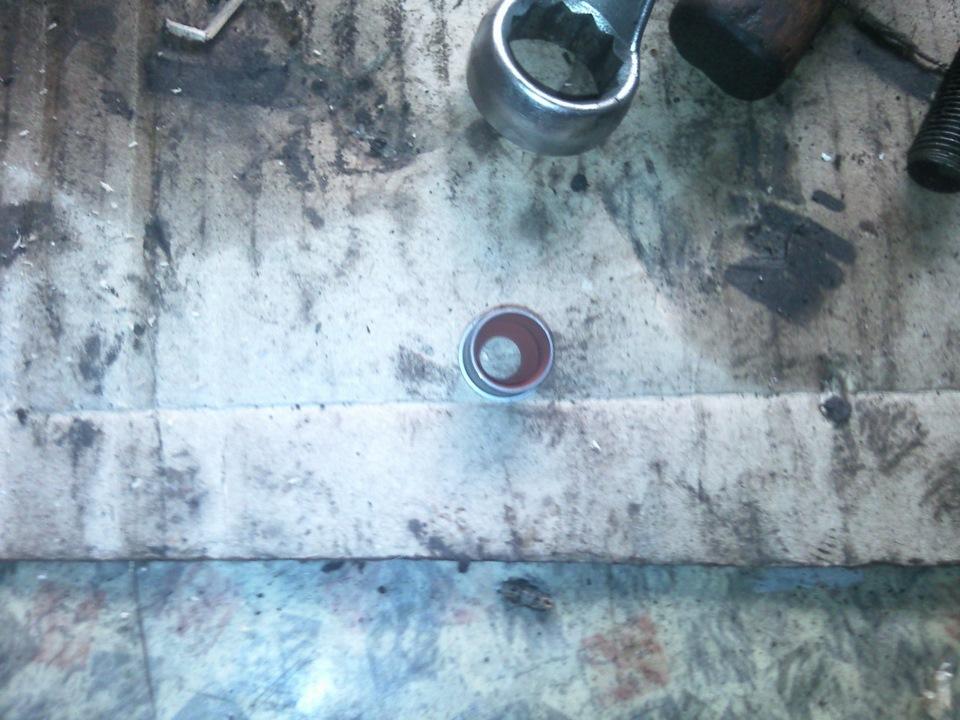 Замена сальников клапанов