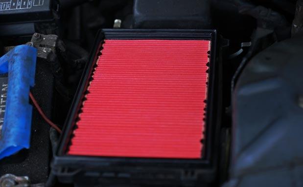 Замена воздушного фильтра Nissan Almera