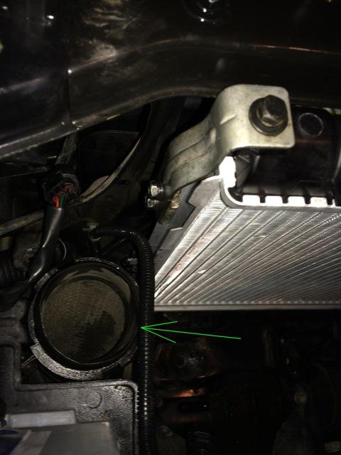 Замена радиатора Hyundai Elantra