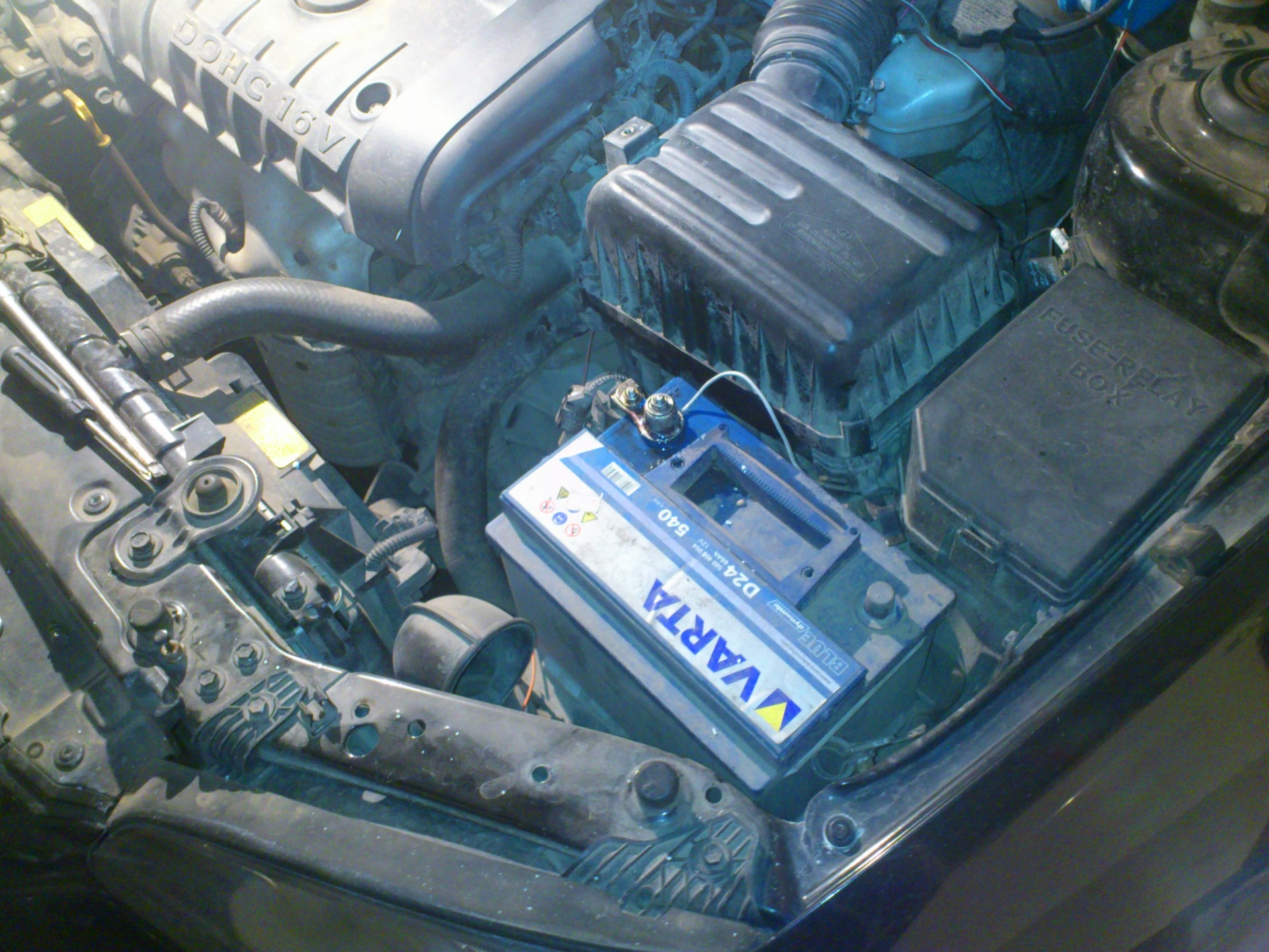 Замена стартера Hyundai Elantra