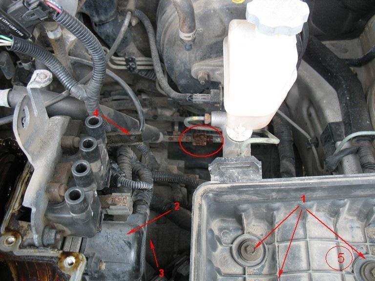 Замена термостата Hyundai Elantra