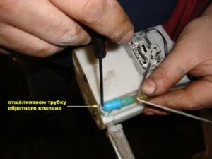 замена топливного фильтра Hyundai Elantra