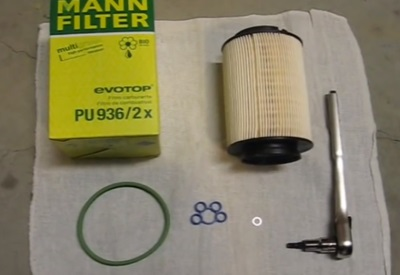 Jetta замена топливного фильтра