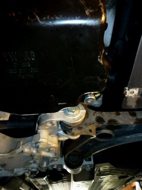 Замена масла в акпп Volkswagen Jetta